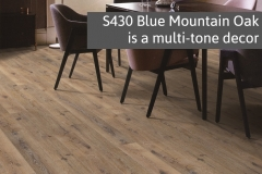 Blue Mountain Oak Display